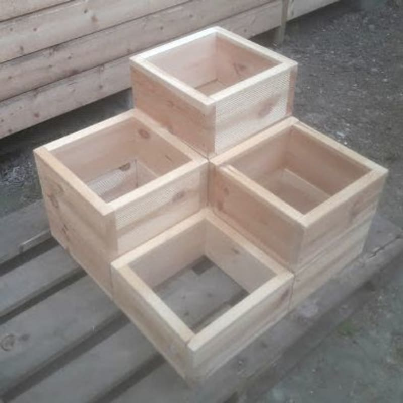 Stacking Box Planters
