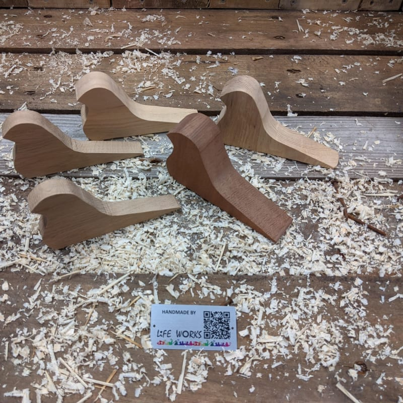 Oak Bird Door Wedge